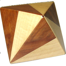 Vinco Octahedron 1 - European Wood Puzzles