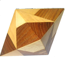 Double Pyramid - Wood Puzzles