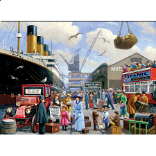 Collector Suitcase Jigsaw - Titanic Voyage
