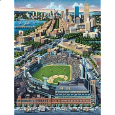 Collector Suitcase Jigsaw - Fenway Park