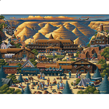 Collector Suitcase Jigsaw - Grand Canyon