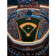 Collector Suitcase Jigsaw - Yankee Stadium