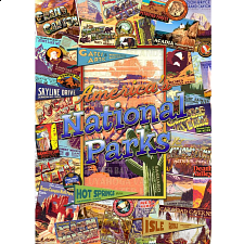 Collector Suitcase Jigsaw - American National Parks - Collector Suitcase Series
