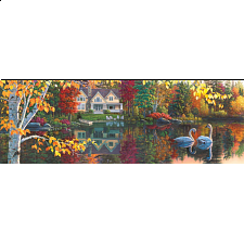 Artist Panoramic - Autumn Grace - 1000 Pieces