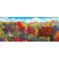 Artist Panoramic - Union River Mill