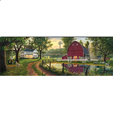 Artist Panoramic - The Road Home - 1000 Pieces