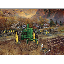 John Deere - Autumn in Deere Country - 1000 Pieces