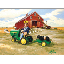 John Deere - Tractor Ride - 1000 Pieces