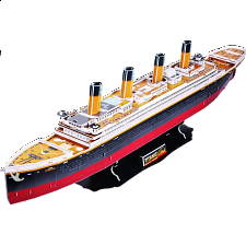 Titanic - 3D Jigsaw Puzzle - 101-499 Pieces