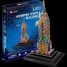 Empire State Building - LED Lit 3D Puzzle -