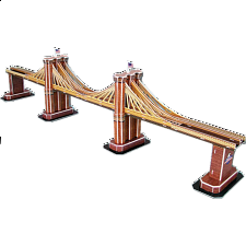 Brooklyn Bridge - 3D Jigsaw Puzzle - 3D