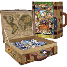 Collector Suitcase Jigsaw - Australia