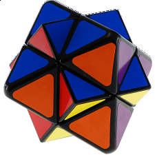 Starlike Skewb Cube - Black Body -
