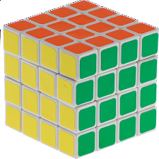 4x4x4 - White Body - Other Rotational Puzzles