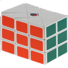 Long Case Cube - White Body - Other Rotational Puzzles