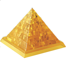 3D Crystal Puzzle - Pyramid