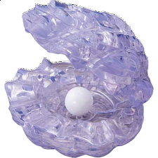 3D Crystal Puzzle - Pearl in Shell - Search Results