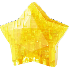 3D Crystal Puzzle - Star