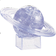 3D Crystal Puzzle - Saturn