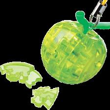 3D Crystal Puzzle Mini - Apple - Green -