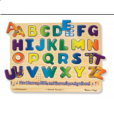Alphabet Sound Puzzle - Children's Toys & Puzzles