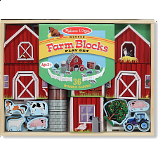 Farm Blocks Play Set - Children's Toys & Puzzles