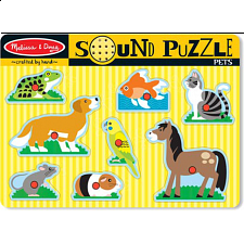 Pets Sound Puzzle - Puzzles - Children