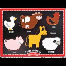 First Chunky - Farm Animals -