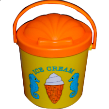Speck Seahorse Sand Ice Cream Set - Games & Toys