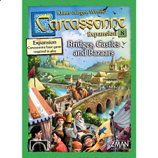 Carcassonne: Bridges, Castles, and Bazaars - Strategy Games
