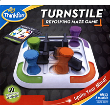 Turnstile: Revolving Maze Game - Strategy - Logical