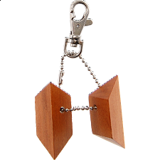 Pyramid Keychain Puzzle - Other Wood Puzzles