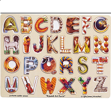 Alphabet Art - Children's Toys & Puzzles