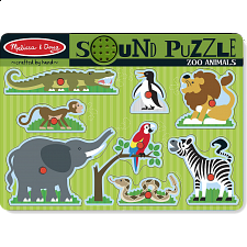 Zoo Animals Sound Puzzle - Puzzles - Children