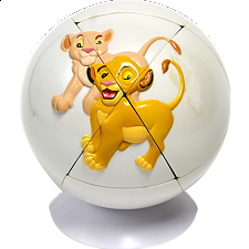 Lion King Puzzle Ball 3 - Rubik's Cube & Others