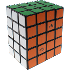 Fully Functional 3x4x5 Cube - Black body - DIY - Rubik's Cube & Others