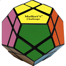 Skewb Ultimate - 12 Color - Black Body - Meffert's Rotational Puzzles