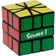 Calvin's Puzzles - Square 1 - Black Body - Rubik's Cube & Others