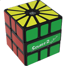 Calvin's Puzzles - Square 2 - Black Body - Other Rotational Puzzles