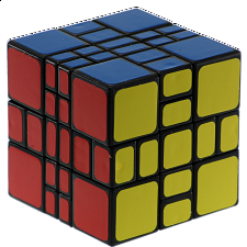 3x3x4 Mixup Plus - Black Body
