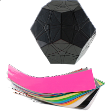 Helicopter DIY Dodecahedron - Black Body - Other Rotational Puzzles