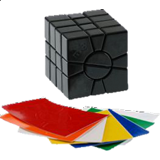Mf8 Super Square 1 DIY - Black Body - Other Rotational Puzzles