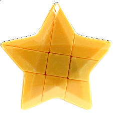 Star 3x3x3 Cube - Yellow Body