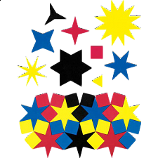 Tessel-gon Stars -