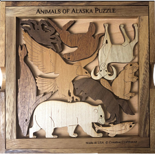 Animals of Alaska - Other Wood Puzzles