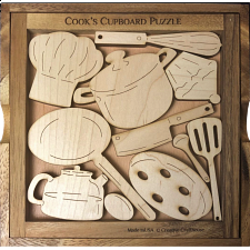 Cook's Cupboard - Other Wood Puzzles