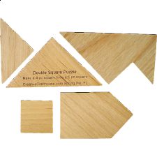 Double Square - Wood Puzzles