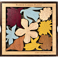 Flower Garden (Florist's Challenge) - Other Wood Puzzles