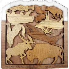 Forever Wild - Rocky Mountains - Other Wood Puzzles