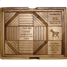 Get My Goat - Wood Puzzles